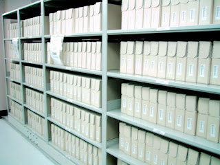 museum storage solutions, archival materials, document boxes, art conservator survey