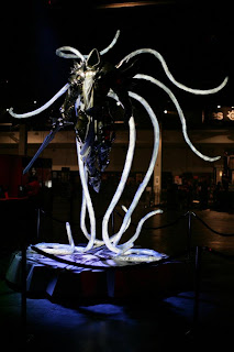 Archangel Tyrael's statue at BlizzCon 2011