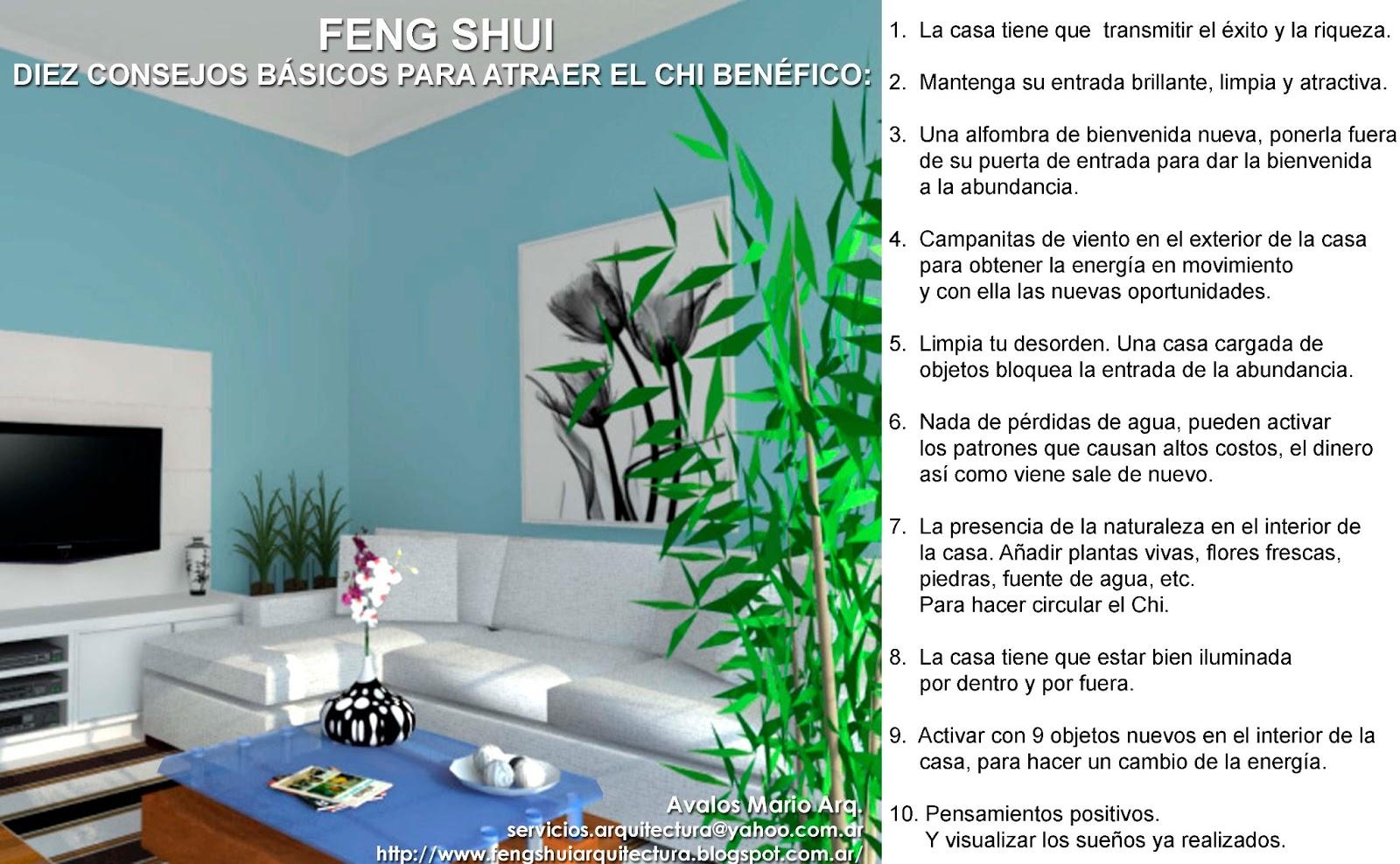 Arquitectura y feng shui consejos b sicos de feng shui - Consejos feng shui ...