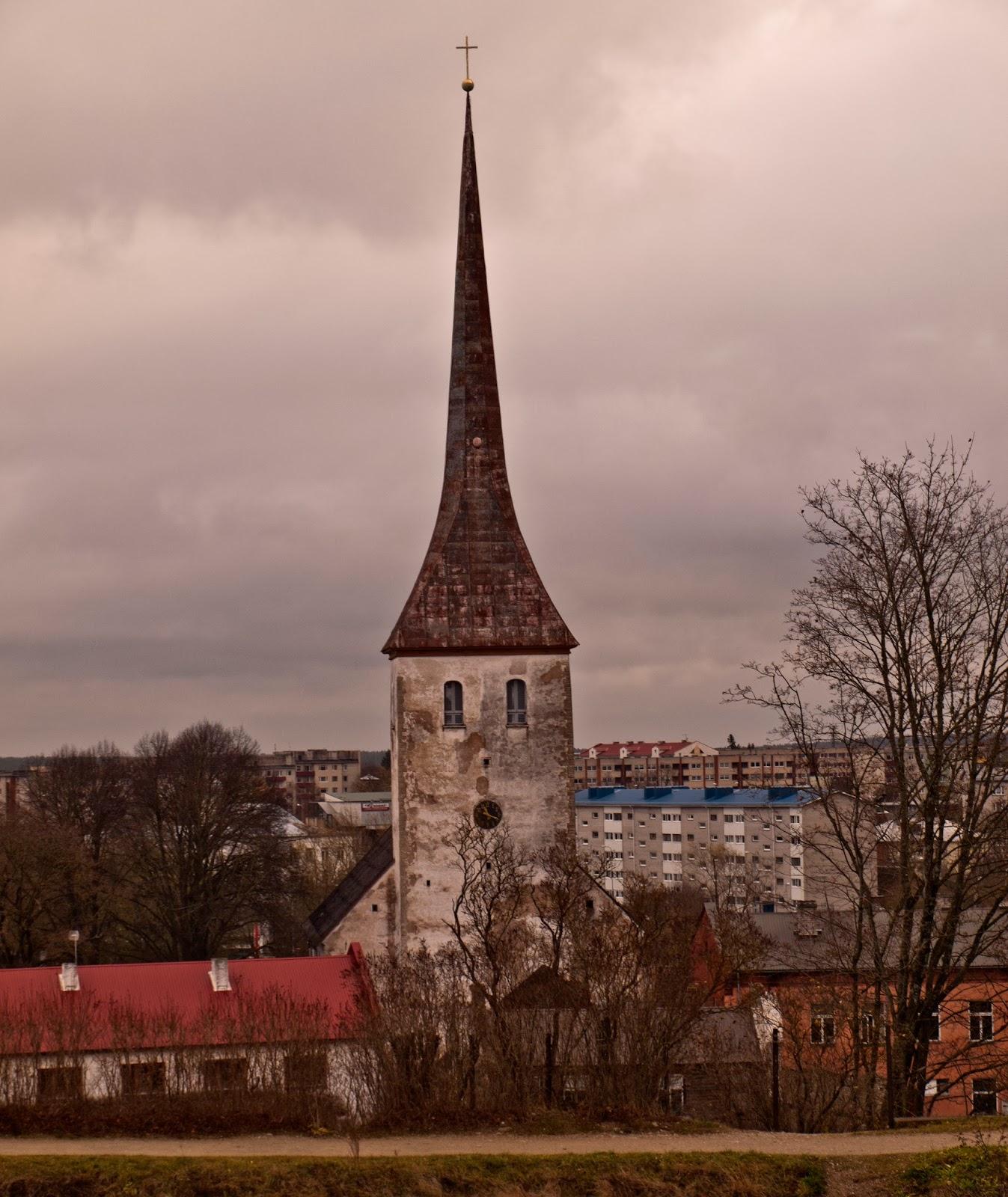 Экскурсии по Эстонии. Город Раквере