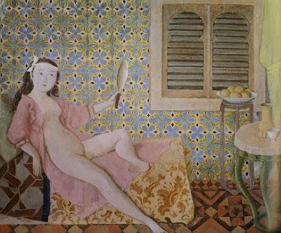 Balthus - la chambre turque,1963-66.