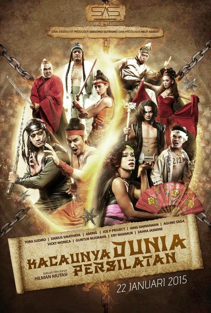 Review Film Kacaunya Dunia Persilatan 2015