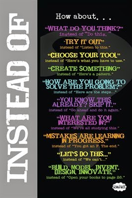"""Instead Of Poster from """"Venspired"""" Twitter GuestEduCelebrity at TeacherFriends"""
