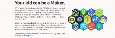 diyorg kid can be a maker Resources for Young Makers