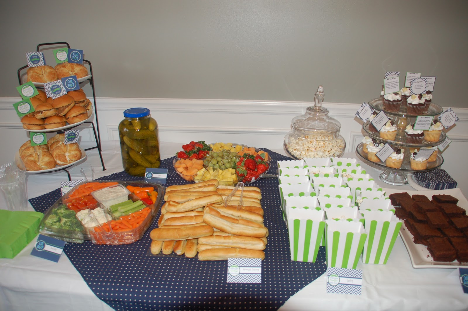 Baby Shower On A Budget Nyc ~ Love grows here little man baby shower