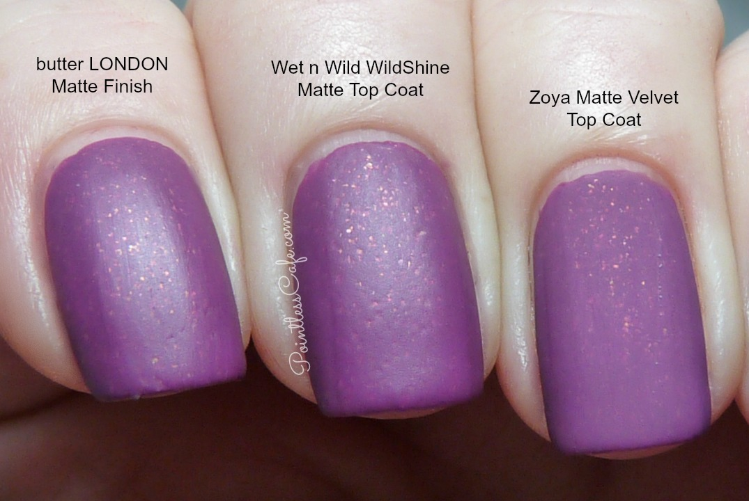 Which Matte Top Coat is Best? | Pointless Cafe