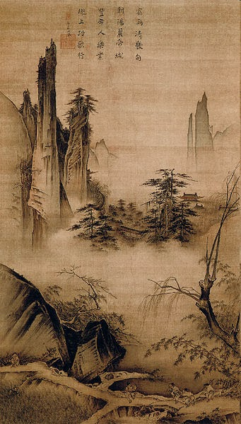 Robert ketchell 39 s blog on chinese landscape painting and for Dynasty mural works