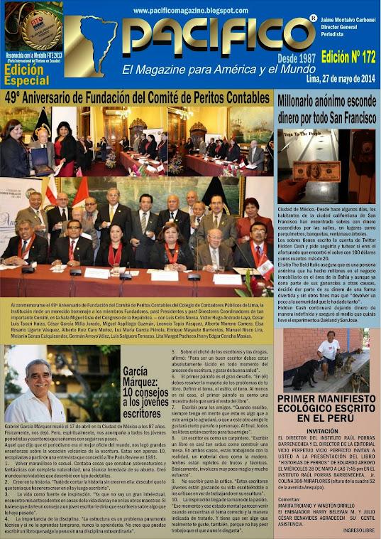 Revista Pacífico Nº 172 Edición Especial