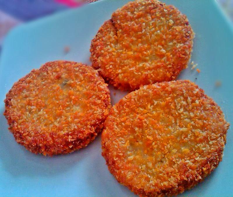 Nugget Ayam Tahu: Amal's Kitchen : Simple & Easy Recipes: Homemade Burger