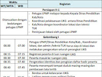 Jadwal UKG 9-27 November 2015 Online Sistem