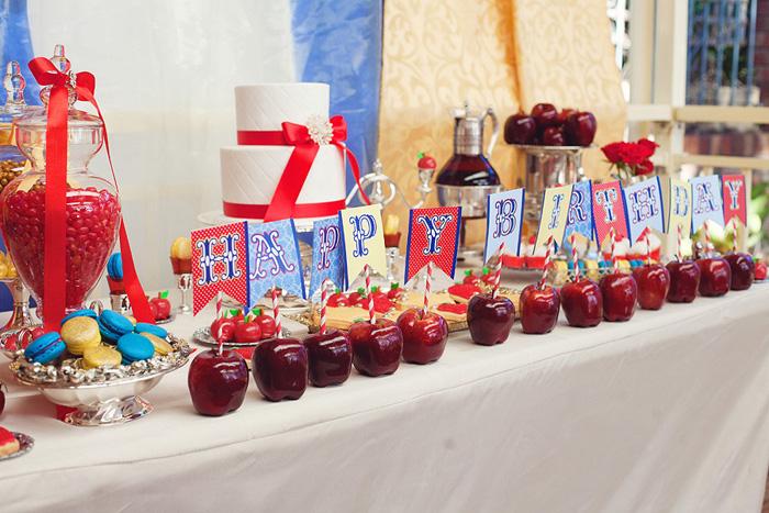Decoración de Fiestas Infantiles de Blanca Nieves y Los 7 Enanitos ...