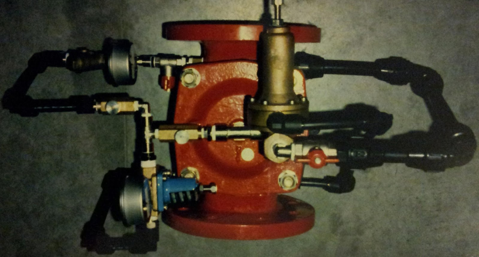 válvula reductora a caudal cero