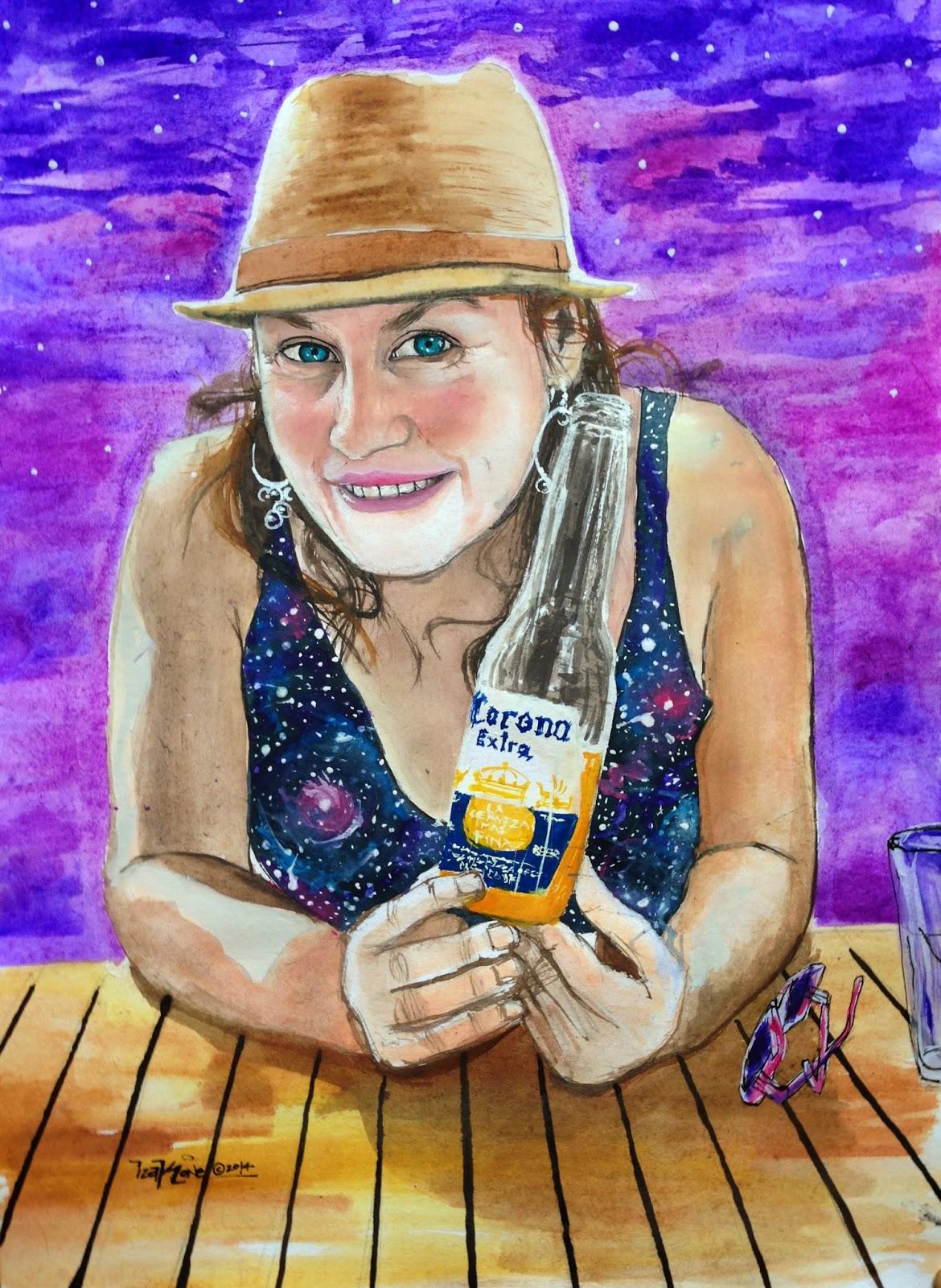izak one, watercolor, graffiti, chile, artist, antofagasta, izak, street art