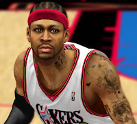 NBA 2K13 Allen Iverson Cyber Face Mod