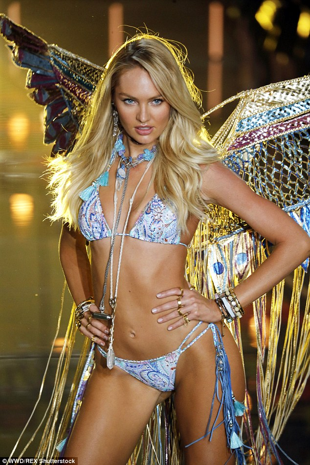 Candice Swanepoel looked gorgeous at the VS Fashion Show 2015