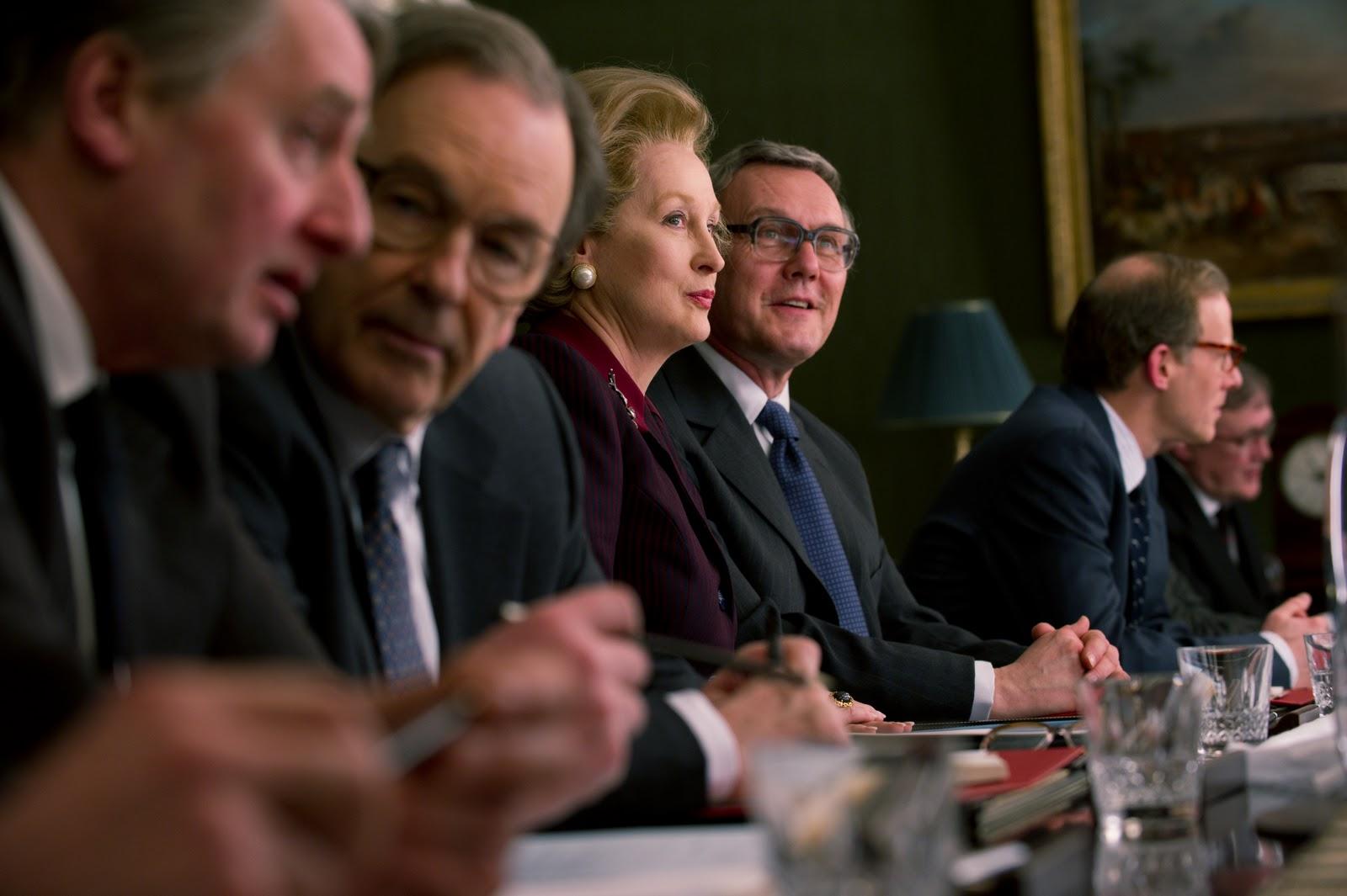 Meryl Streep en la Piel de Margaret Thatcher. Impacta.