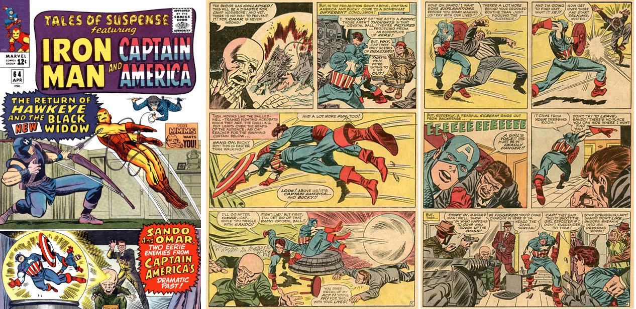 Captain America 1944 Comic