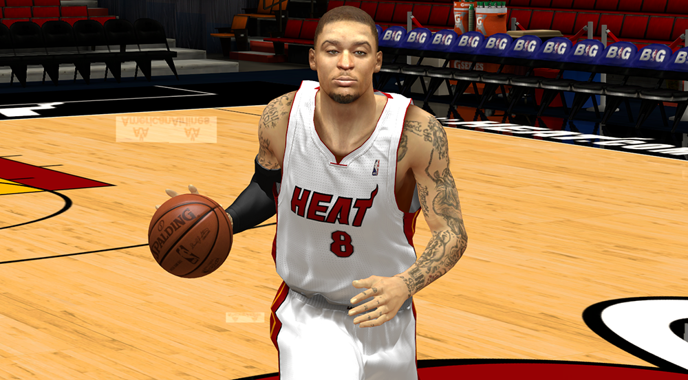 NBA 2K14 Michael Beasley Cyberface (No Cornrows) - NBA2K.ORG