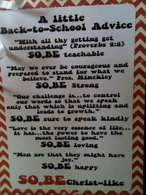 Back To School Quotes And Sayings. QuotesGram