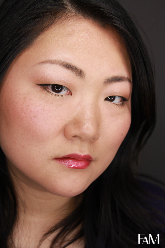 Flirty Spring Look for Asian Monolid Eyes