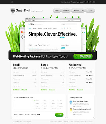 Free Smart Net Website Template | HTML/CSS/JS | 5.57 MB