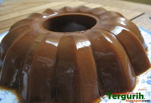 Resep dan Cara Membuat Puding Coklat Susu yang kenyal dan lembut dan enak