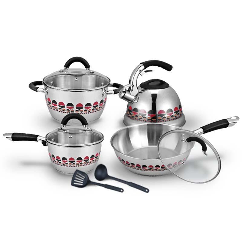 OX-99 Panci Set Oxone Motive Cookware Set