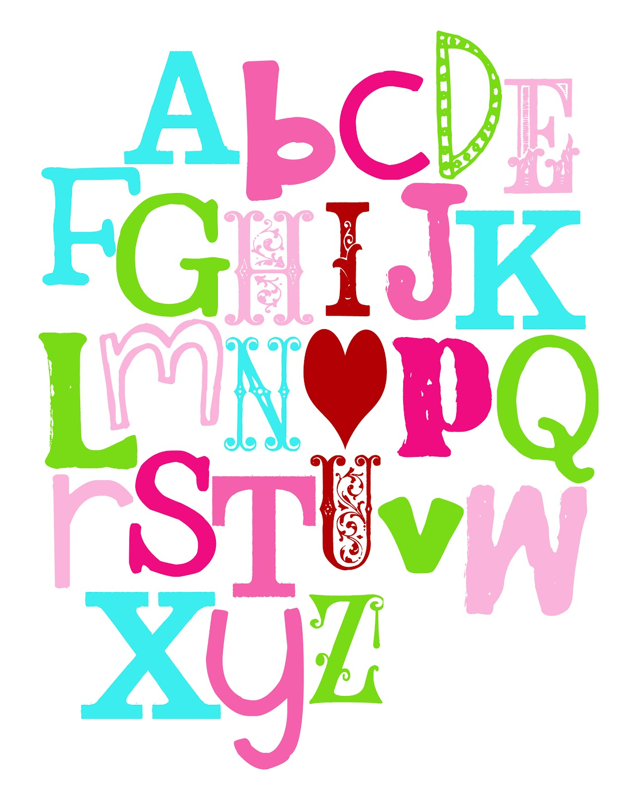 Alphabet A Love M Wallpapers In Heart
