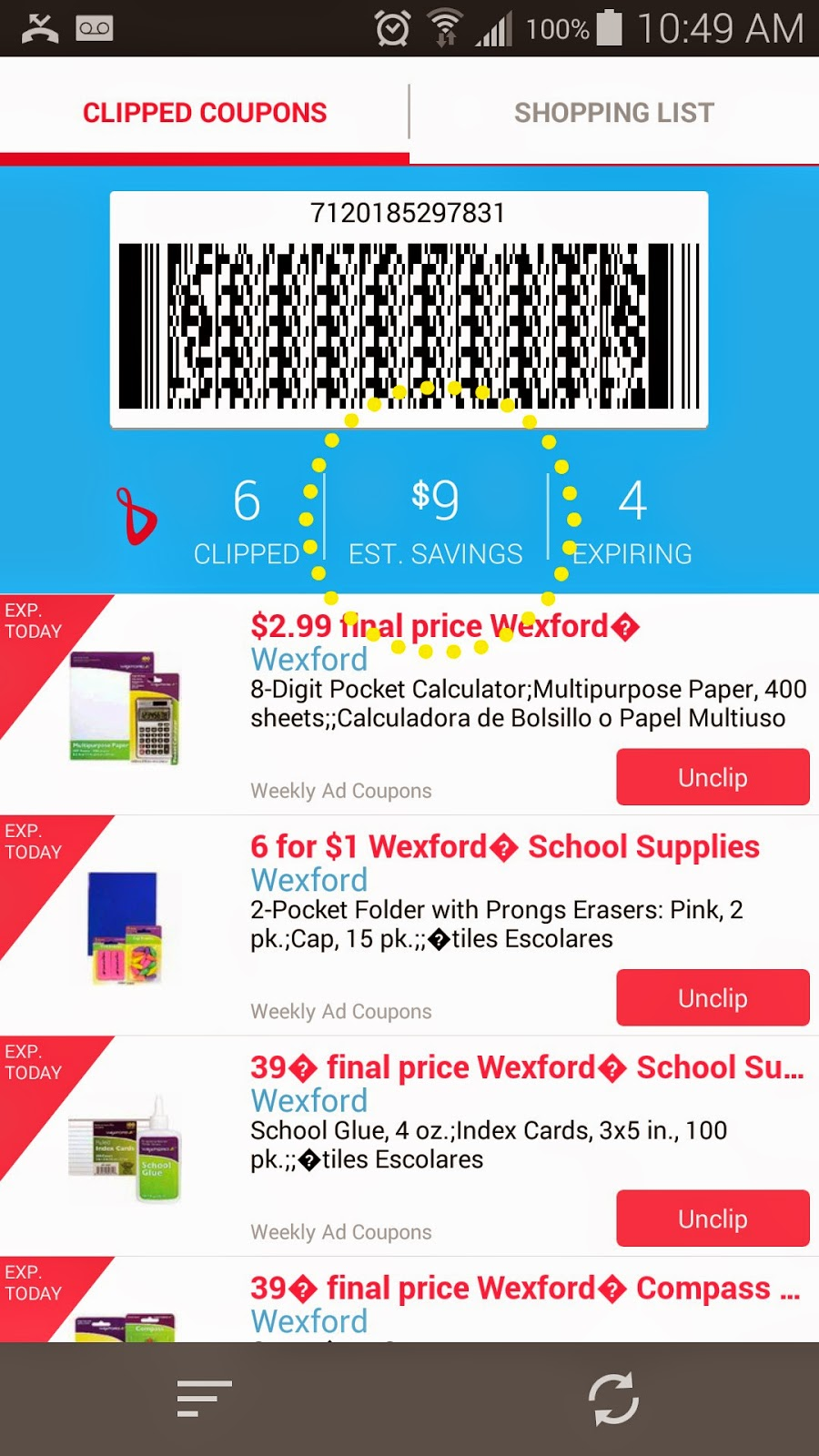 New coupons available on Walgreens Mobile App #WalgreensPaperless #shop