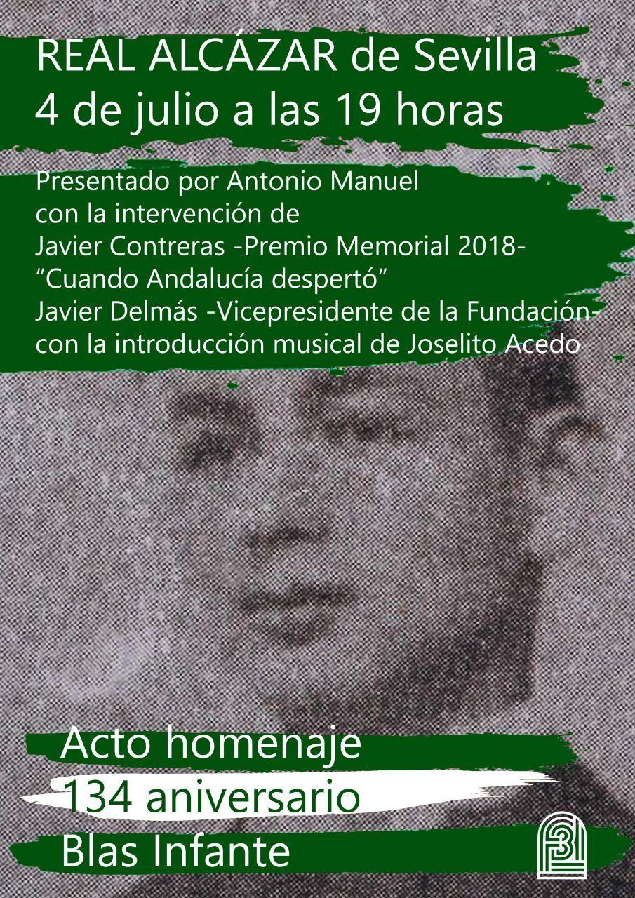 ACTO HOMENAJE 134 ANIVERSARIO BLAS INFANTE