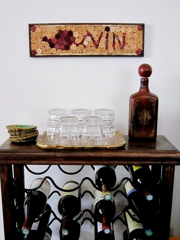 Wine Cork Wall Art wine & cork: {diy} wine cork wall art