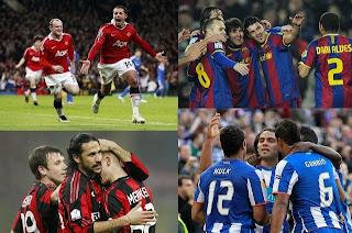 Clasificados Liga Campeones 2011 - 2012