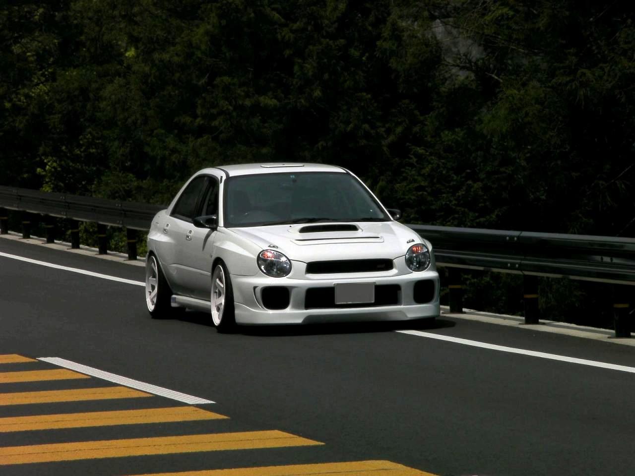Subaru Impreza II GD 日本車 スバル japoński sportowy sedan