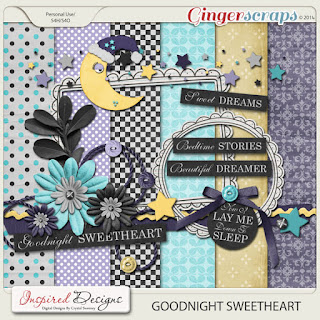 Goodnight Sweet Heart by Inspired Designs