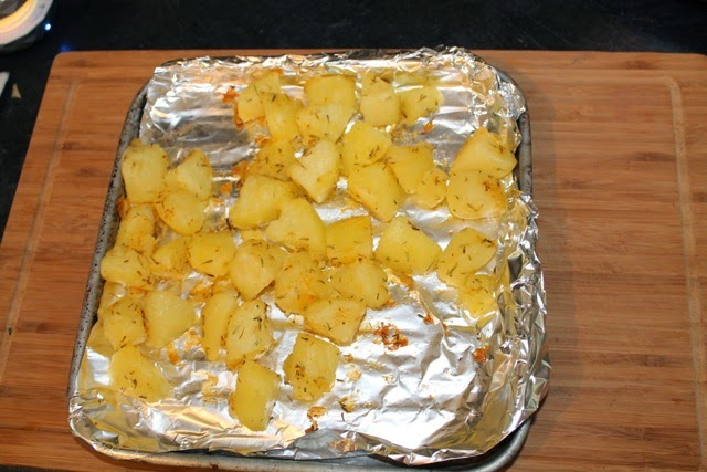 Roasted potatoes -  baked