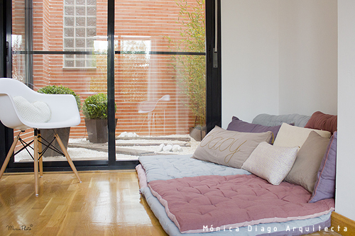 M nica diago arquitectura reforma y decoraci n de un piso - Muebles chill out baratos ...