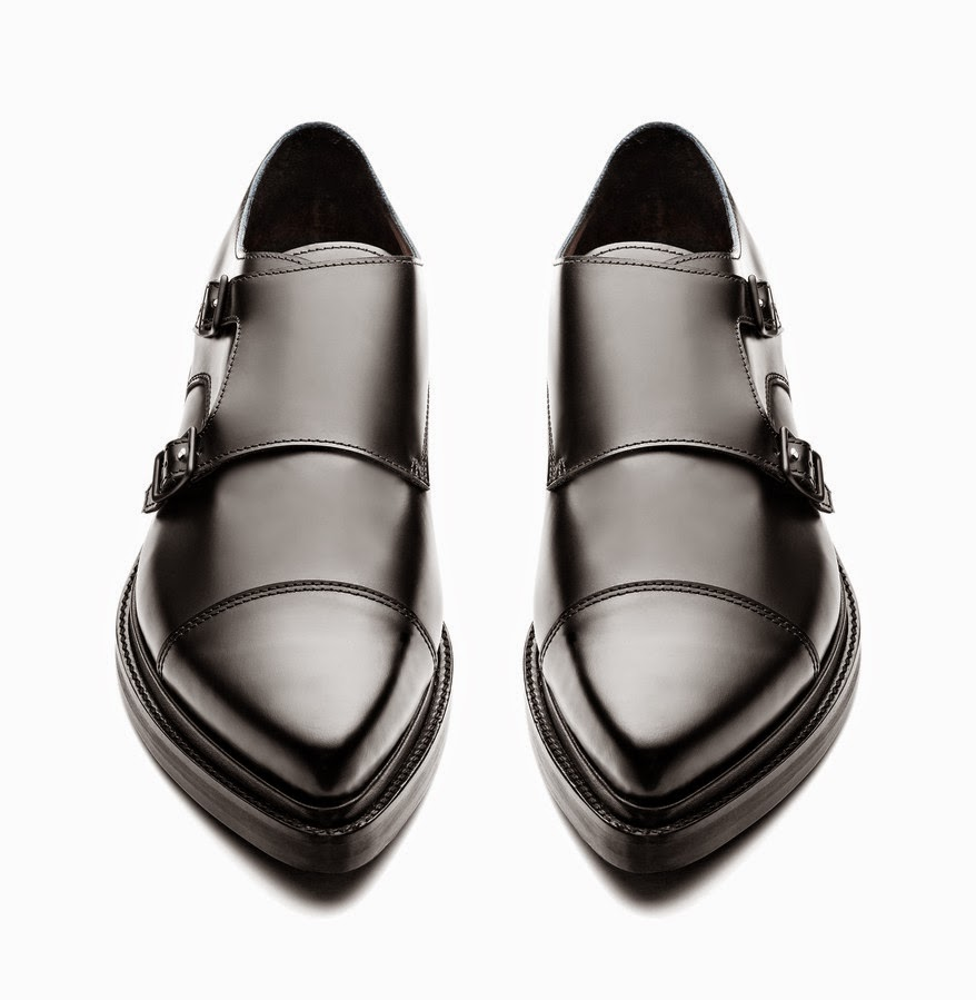 ACNE STUDIOS MONK STRAP MEN'S SHOES