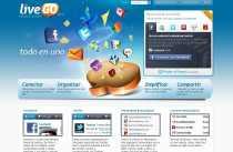 LiveGo Messenger Facebook Twitter E-mail todo en uno