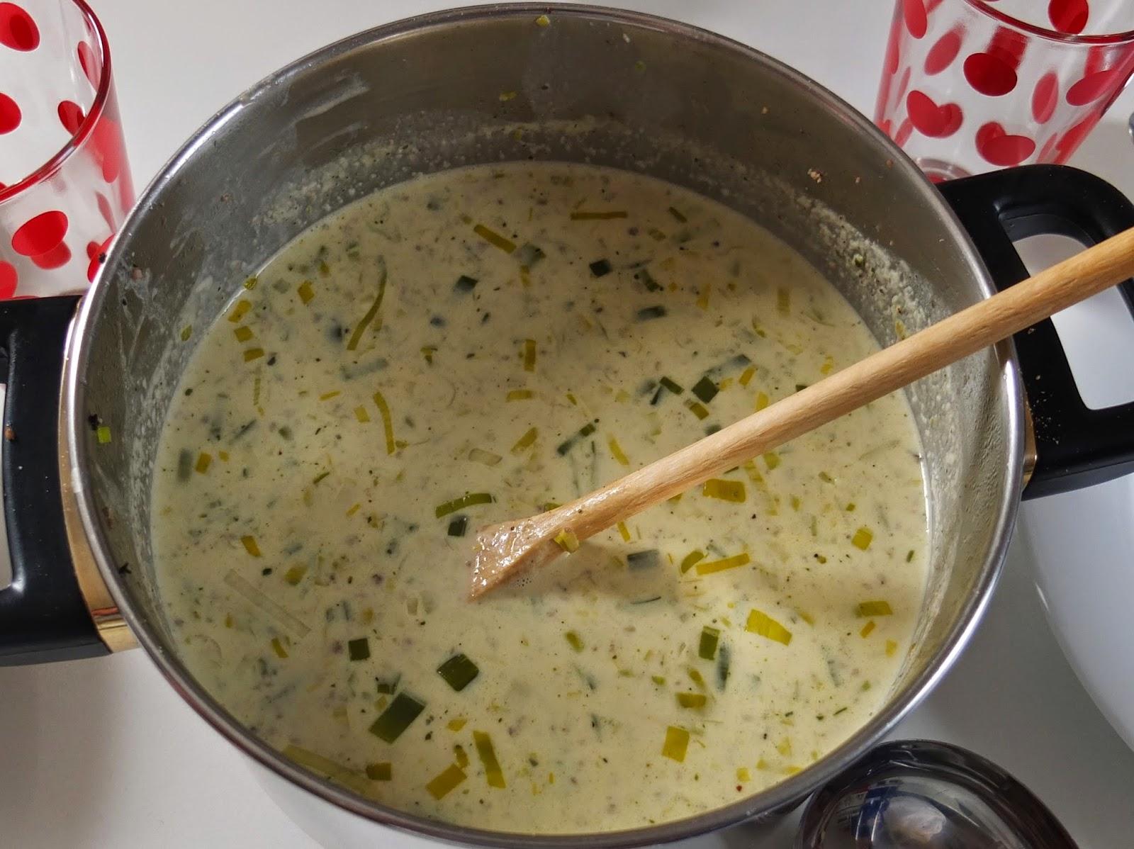 käse lauch suppe leicht