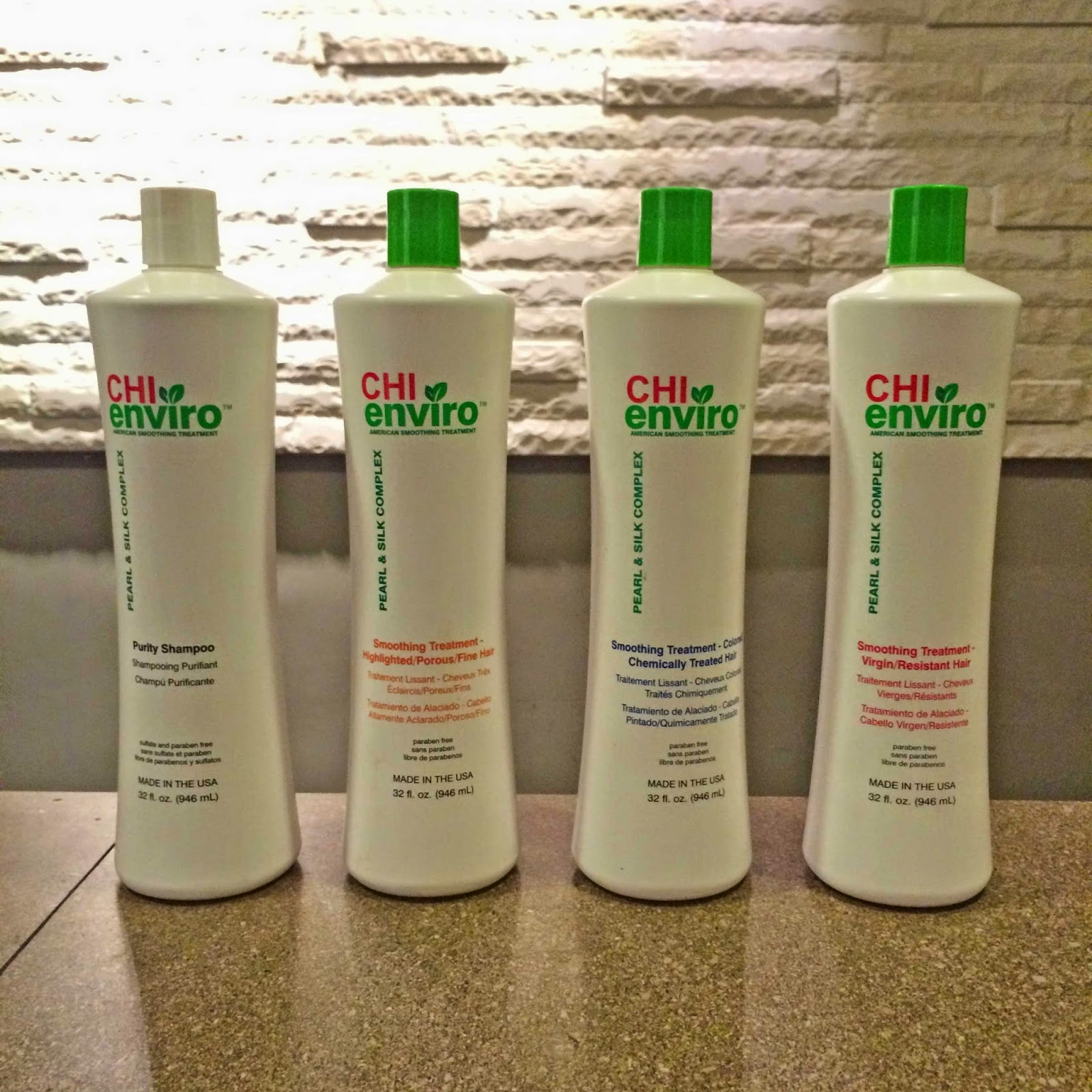 chi enviro hair product range