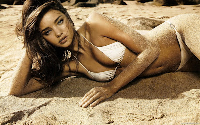 Miranda Kerr Australian Spicy Girl Wallpaper