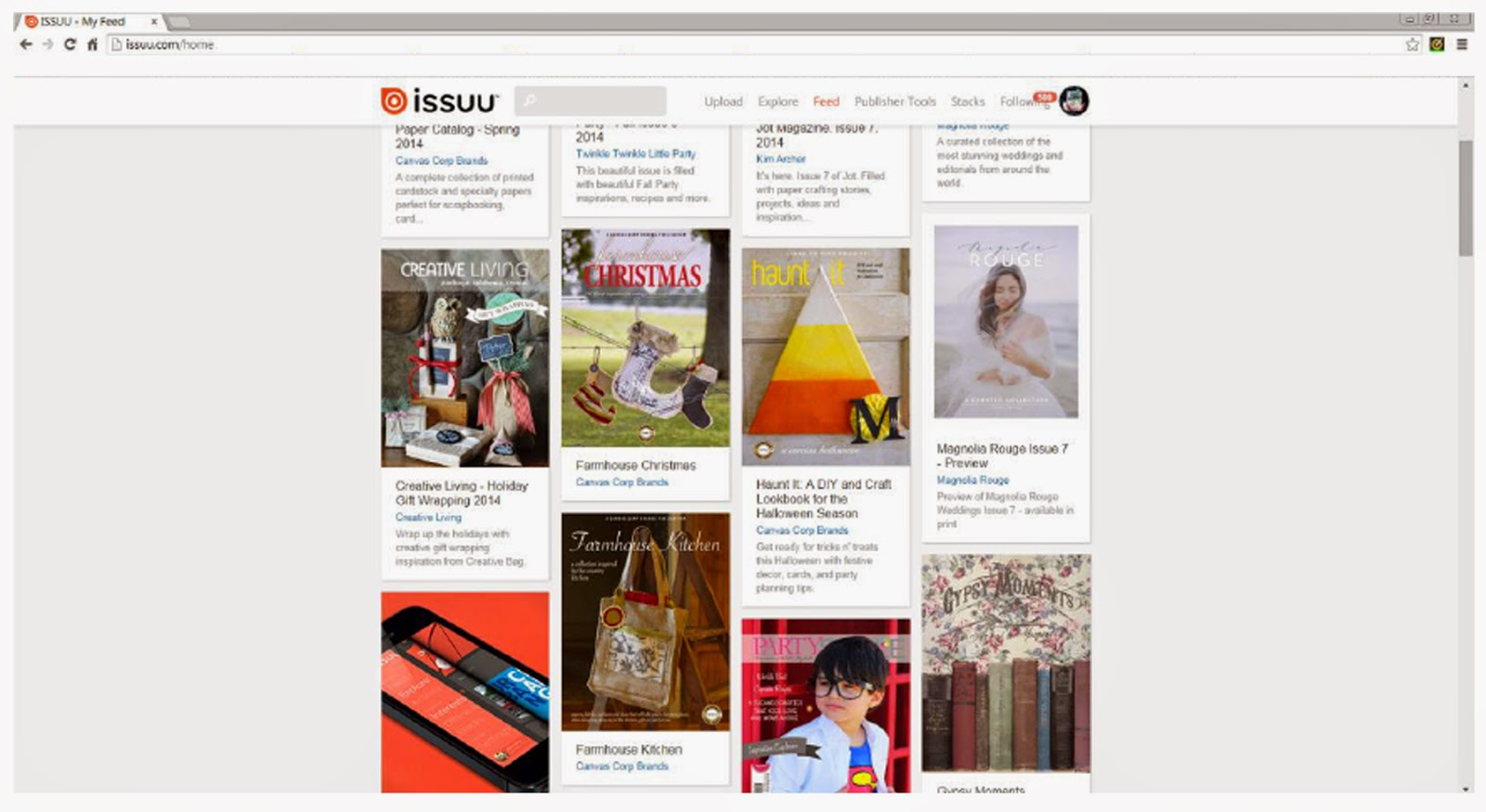 Creative Living Magazine by Creative Bag - see it on ISSUU