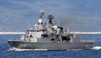 Yavuz class frigate