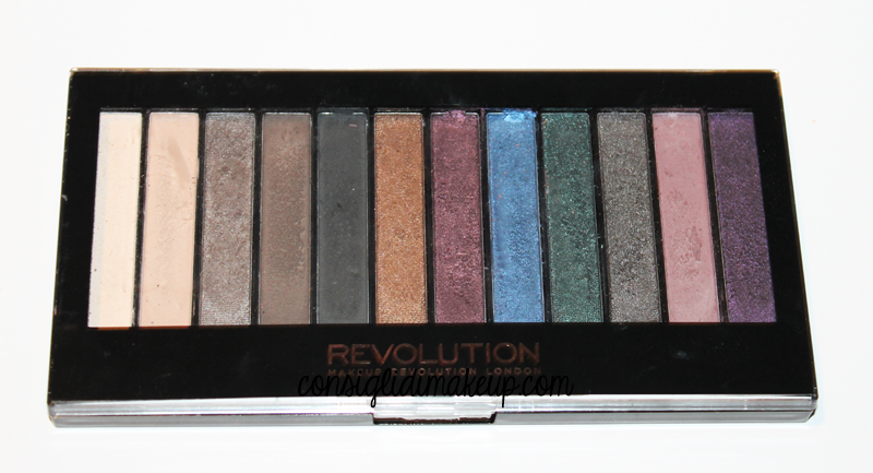 Review: Redemption Palette in Hot Smoked - Makeup Revolution