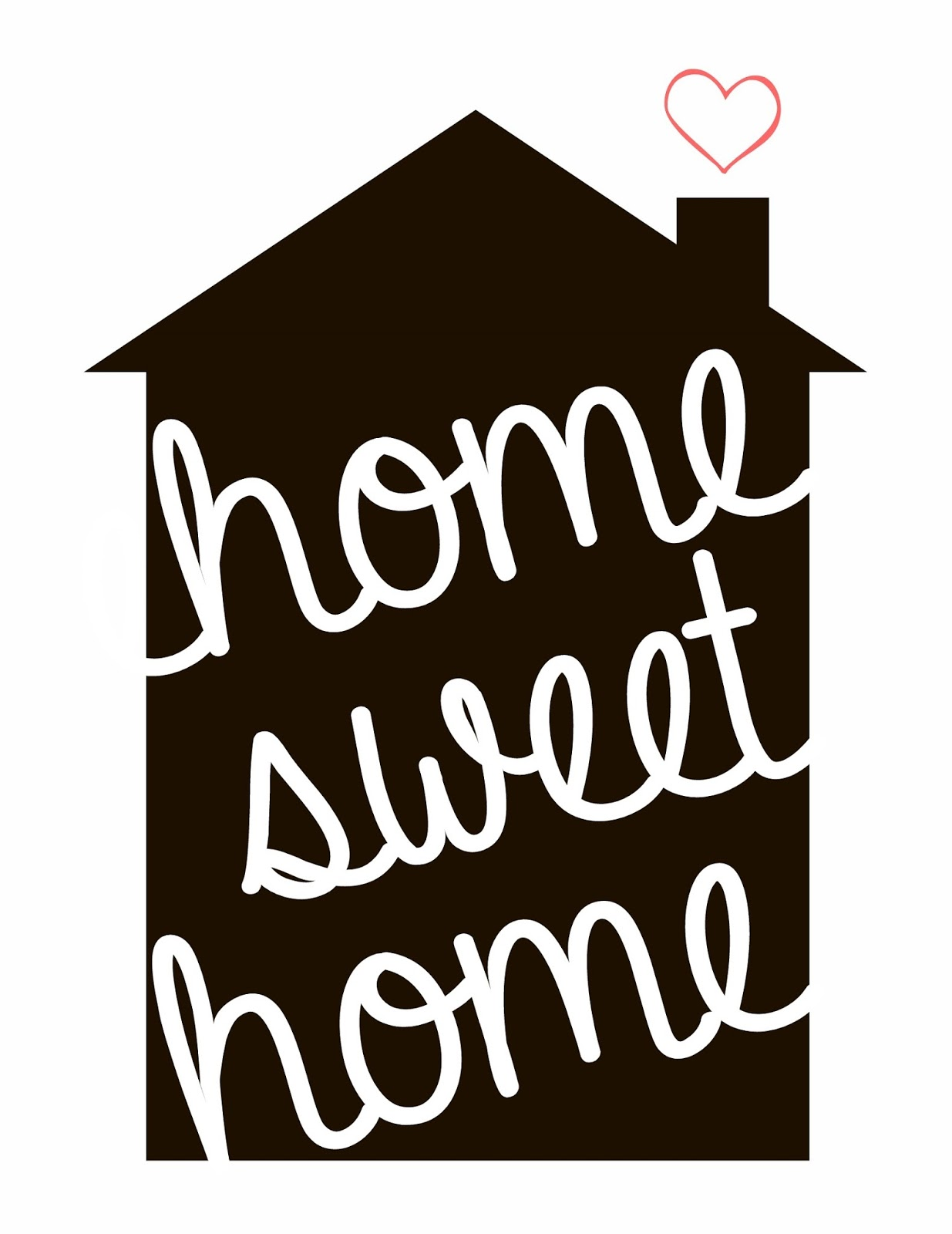 Spool and Spoon: Home Sweet Home  Personalized Printable