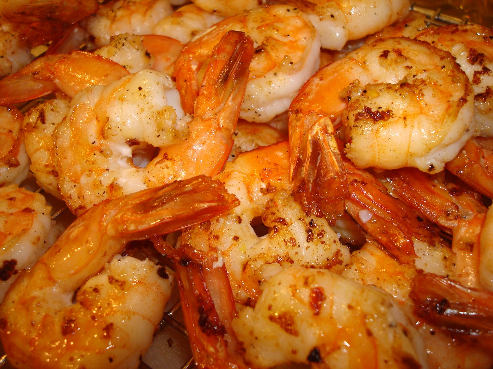 SuperCaliEthnicFreshFlair: Pan Seared Cold-Smoked Shrimp