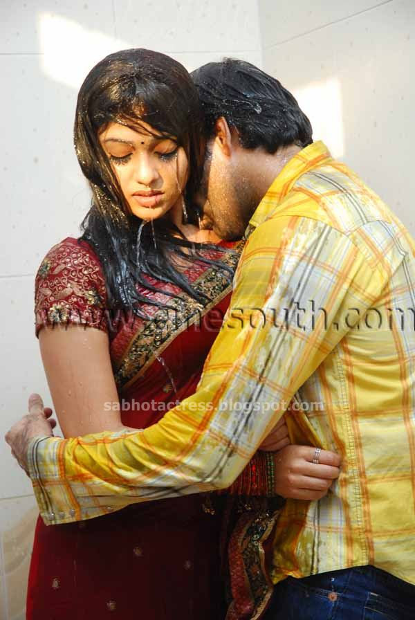 Nayanthara Hot Sexy Bath Room scene Lip kiss Boobs Nipple Navel Unseen ...