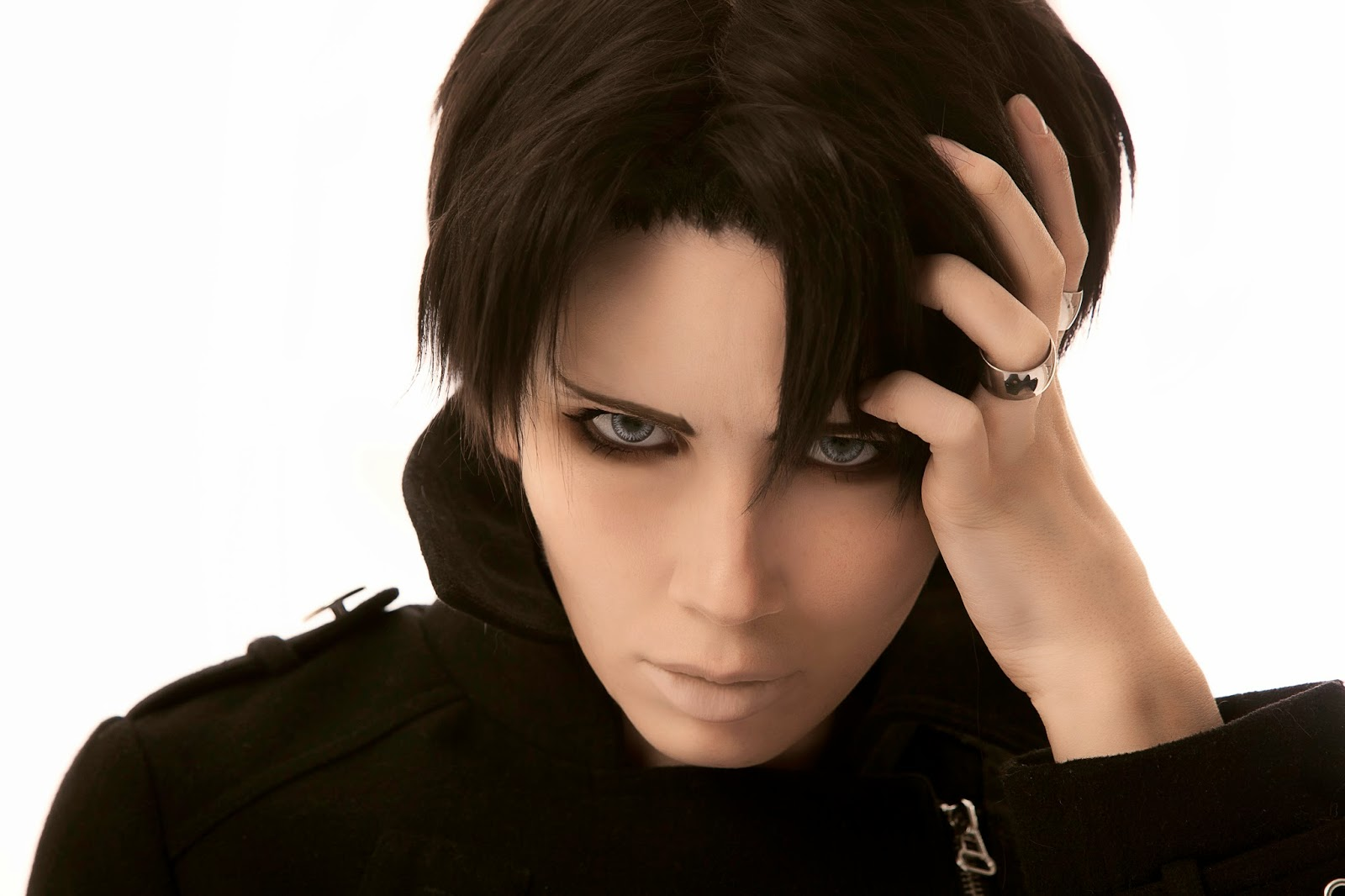 Levi Rivaille Eye Color Have A Similar Type So