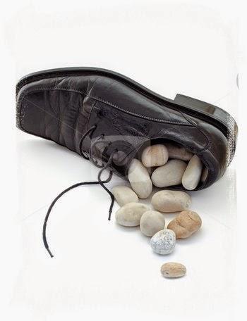 sassolino nella scarpa