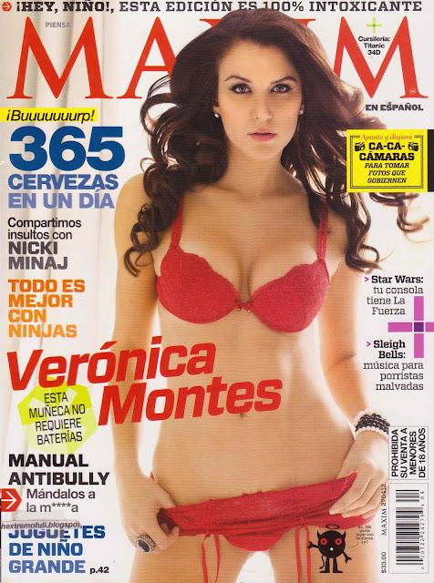 Veronica Montes Maxim Abril 2012